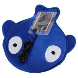 USB Electric Opvarmet Musemåtte Lovely Cartoon Håndvarmer Blå