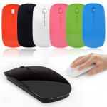 Ultra Thin 2.4G Wireless 4D 800 1000 1200DPI Optical Mouse Keyboards & Mouse
