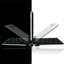 iLepo Flyshark DE Version Chocolate Foldable Ultra Thin Bluetooth Keyboard