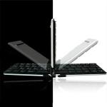 iLepo Flyshark ESP Version Choklad Vikbar Ultratunn Bluetooth Tangetbord Tangentbord & Mus
