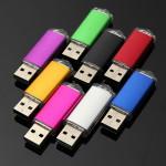 128MB USB 2.0 Flash Drive Candy Farve Memory Pen Opbevaring Harddiske & Opbevaring