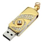 16GB Diamond Rhinestone Flash Driver Mini USB 2.0 Memory U Disk Drives & Storage