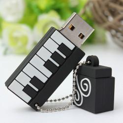 16GB Piano Model Elegant Flash Drive USB 2.0 Hukommelse