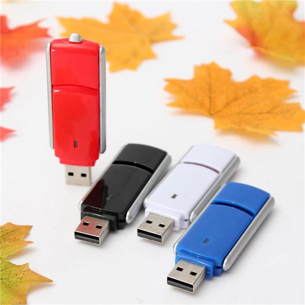 16GB Bærbare Mini Farverige Swivel Flash Drive USB 2.0 Hukommelse Harddiske & Opbevaring