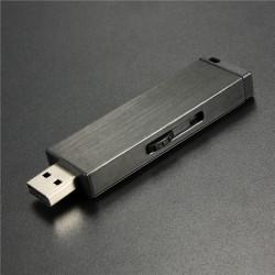 16GB USB 2.0 Black Metal USB-minne Storage Thumb Minne U Disk