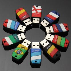 16GB USB 2.0 World Cup Football Model Flash Drive Memory U Disk