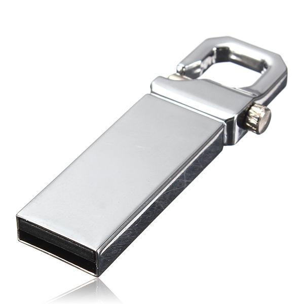 16G USB 3.0 Metal Flash Pen Drive Keychain Memory U Disk Drives & Storage