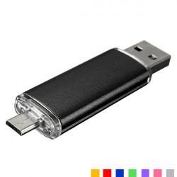 16G USB till Micro USB-minnen U Disk för PC och OTG Smart Phone