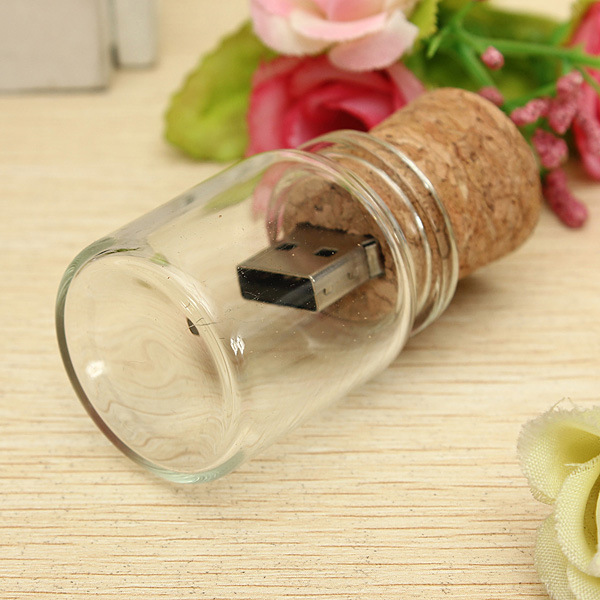 16G Wish Bottle Model Stick Flash Drive USB 2.0 Memory U Disk Drives & Storage