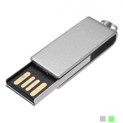 1G Mini Swivel USB-minne USB 2.0 Metal Pen Minne U Disk