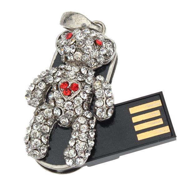 2GB 4GB 8GB Gloomy Bjørn USB Hukommelser Harddiske & Opbevaring