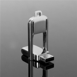 32GB Swivel USB 2.0 Metal USB-minne Thumb Lagring Pen Minne U Disk