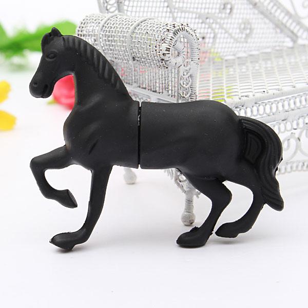 32GB USB 2.0 Fashion Horse Model Flash Drive Memory Stick U Disk Drives & Storage