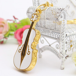 4GB Cute Guitar Style USB 2.0 Flash Drive Storage Memory Pen U Disk