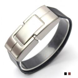 4GB USB 2.0 Armband Leder Flash Laufwerk Memory Stick Speicher U Scheibe