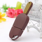 4GB USB2.0 Chocolate Ice Cream Model Hukommelse Harddiske & Opbevaring