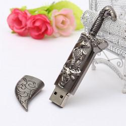 4GB USB 2.0 Metal Mongoliet Style Hukommelse