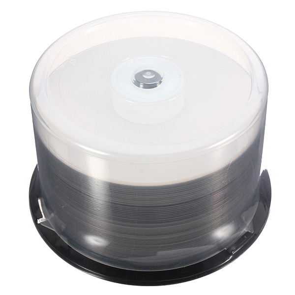 50stk Printable DVD + R DL 8X 8.5 GB 240 Min Dual Layer Blank Media Disc Harddiske & Opbevaring