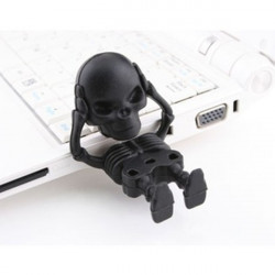 8GB Sort Skeleton Model USB 2.0 Hukommelse
