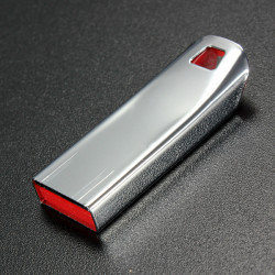 8GB Mini Portable Metal Thumb USB 2.0 USB-minne-minne Penna U Disk