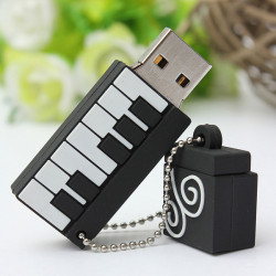 8GB Piano Model Elegant Flash Drive USB 2.0 Memory Thumb Memory U Disk