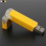 8GB Portable Mini Transparent USB-minne USB2.0 Stick Memory U Disk Hårddiskar & Lagring