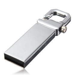 8G USB 3.0 Metal Flash Pen Drive Keychain Memory U Disk