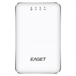 EAGET A86 1TB USB 3.0 Wi-Fi Portable External Hard Disk 1TB Power Bank