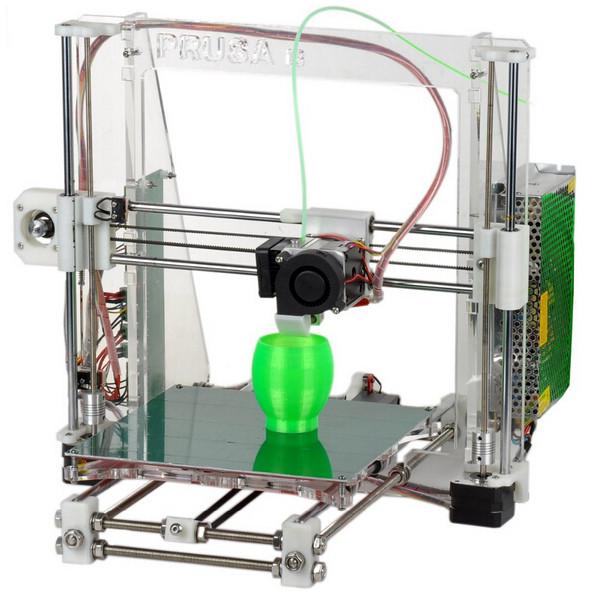 0.2mm Nozzle 1.75mm Material Heacent Reprap Prusa i3 3D Printer DIY Assembly Kit Arduino SCM & 3D Printer Acc