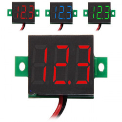 0.36 Inch Digital DC 3.3-30V Voltmeter LED Voltage Meter