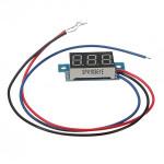 0.36 Inch Digital Voltmeter 0 - 200V Voltage Meter Gauge LED Panel Meter 3 Wire Arduino SCM & 3D Printer Acc