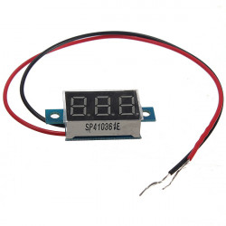 "0.36"" Digital Voltmeter 3 - 30V Spänning Gauge LED Panel Meter 2 Wire"