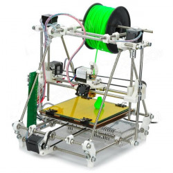 0.3mm Munstycke 1.75mm Material 3DP02 DIY Montering Heacent RepRap Mendel 3D-skrivare Kit