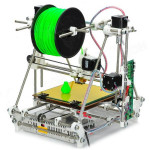 0.4mm Dyse 1.75mm Materiale 3DP04 Heacent RepRap Mendel DIY Assembly 3D Printer Kit Arduino SCM & 3D-printer