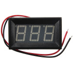 0.56 Inch 3-30V 5-120V LED Panel Voltage Meter 3 Digital Display Voltmeter Arduino SCM & 3D Printer Acc
