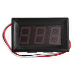 0.56 Inch DC 0-10/30/200V 3 Wire LED Voltmeter Digital Display Panel Volt Meter Arduino SCM & 3D Printer Acc