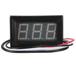 0.56 Inch Digital Ammeter AMP Mini Current LED Panel Meter 0-1A / 10A / 50A / 100A Arduino SCM & 3D Printer Acc
