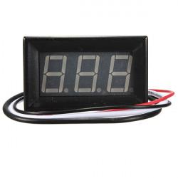 """0.56"""" Digital Amperemeter AMP Mini Strøm LED Panel Meter 0-1A / 10A / 50A / 100A"""