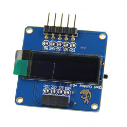 0.91 inch 128x32 OLED Display Module For Raspberry Pi Arduino