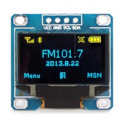 """0.96"""" 4Pin Blå Gul IIC I2C OLED Display Modul för Arduino"""