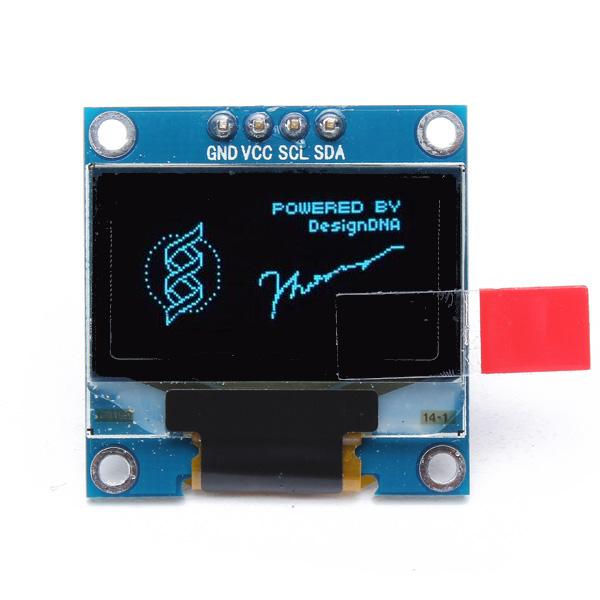 0.96 Inch 4Pin IIC I2C Blue OLED Display Module For Arduino Arduino SCM & 3D Printer Acc