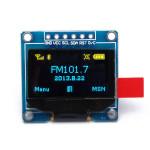 """0.96"""" 6pin 12864 SPI Blå Gul OLED Display Modul för Arduino Arduino SCM & 3D-skrivare"""