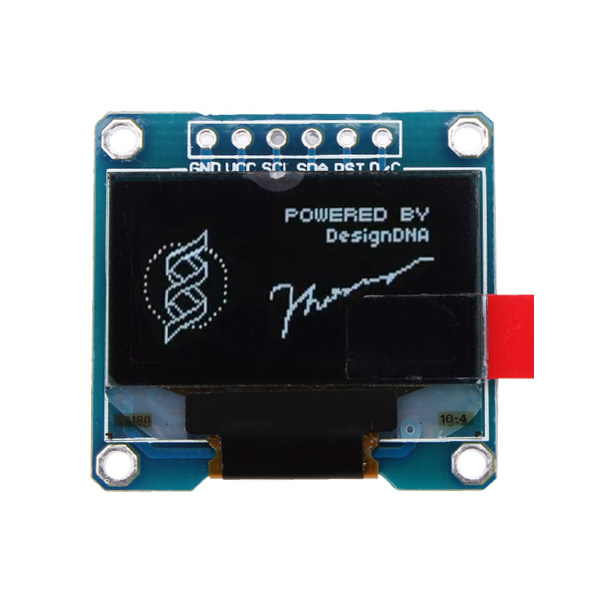 0.96 Inch White SPI OLED Display Module 12864 LED For Arduino Arduino SCM & 3D Printer Acc