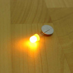 100st F10 10mm Gul LED Diod Arduino SCM & 3D-skrivare
