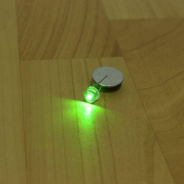 100Pcs Green Straw F8 8MM Led Diode Arduino SCM & 3D Printer Acc