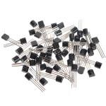 100st MOT / ON 3pin 2N2222A 2N2222 Transistor 40V 300MHz 600mA Arduino SCM & 3D-skrivare
