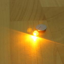 100stk Gul Straw F8 8MM LED Diode