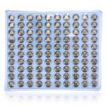 100 pcs LR41 AG3 SR41 392 192 LR736 Watch Button Cell Battery Batteries & Chargers