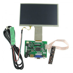 1024 x 600 7 Inch Digital LCD Touch Display Screen With Driver Board Kit For Raspberry Pi