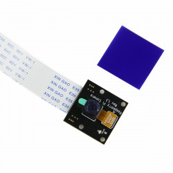 1080P / 720P 5.0MP NOIR Night Vision Kamera Modul med Infra-Blå Filter for Raspberry Pi